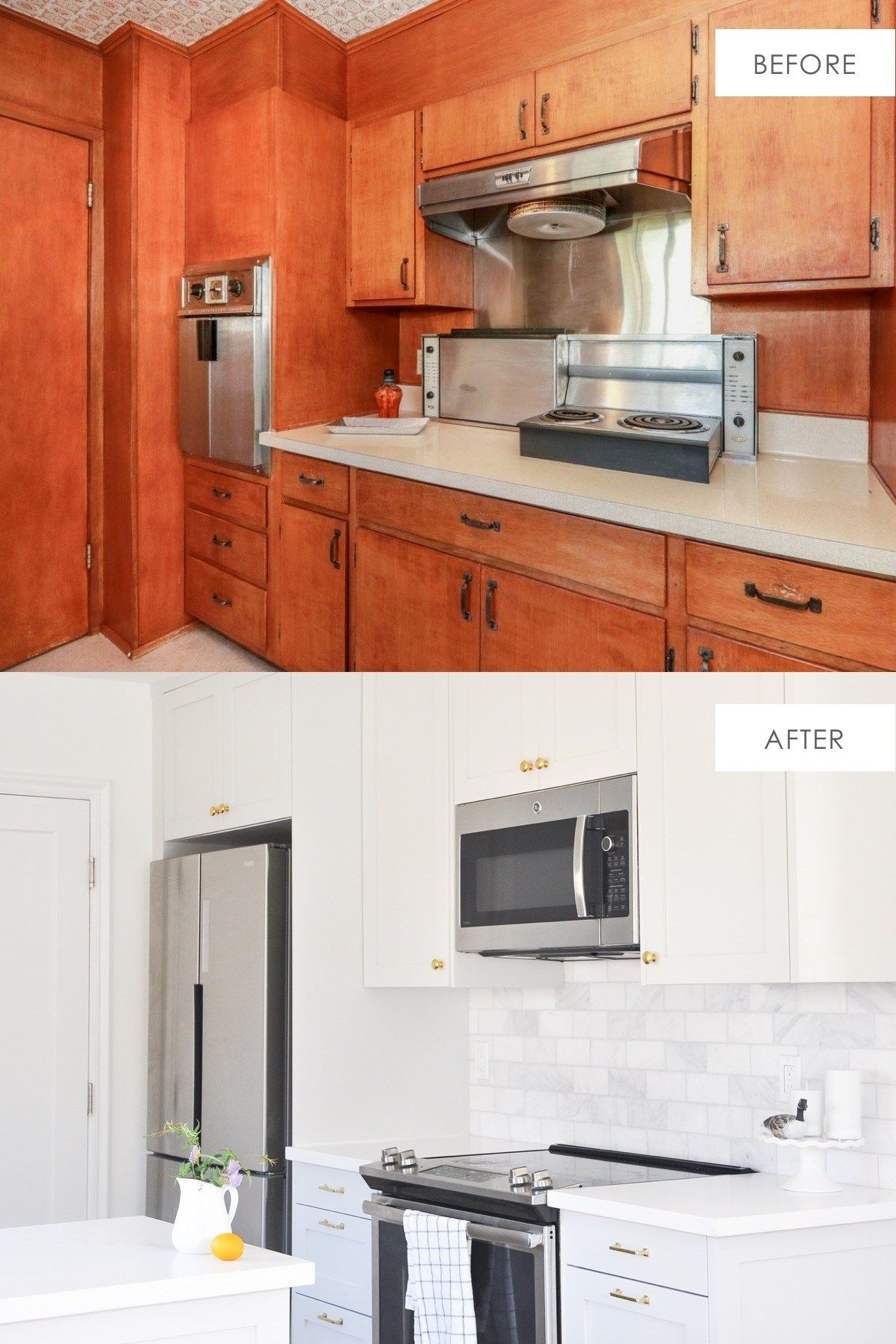 Ikea Kitchen Cabinets Review Honest Review After 2 Years Hydrangea Treehouse Ikea Kitchen Cabinets Kitchen Transformation Ikea Kitchen Remodel