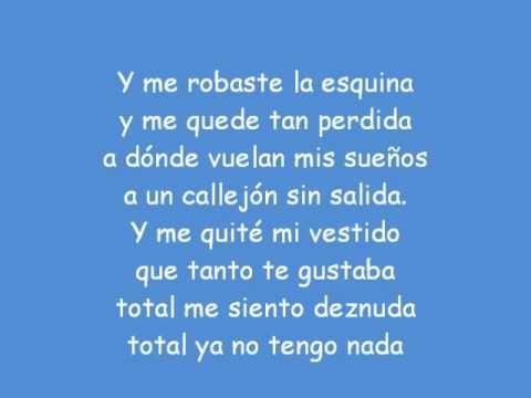 Mi vestido azul lyrics