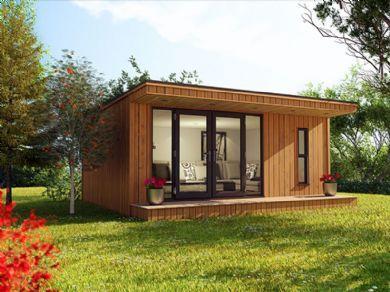 5m x 3m canopy garden room shangri la pinterest for Garden room 7m x 5m