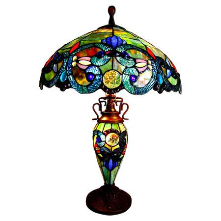 You should see this Demetra Aurora Table Lamp in Green on Daily Sales!L