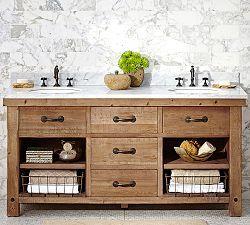 Bathroom Vanities Bathroom Sinks Bath Vanity Sinks Pottery Barn Bathroom Vanity Decor Wood Bathroom Vanity Sink