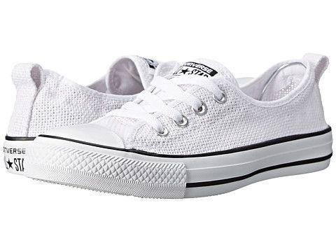 Converse Chuck Taylor® All Star® Shoreline Slip White - Zappos.com Free  Shipping