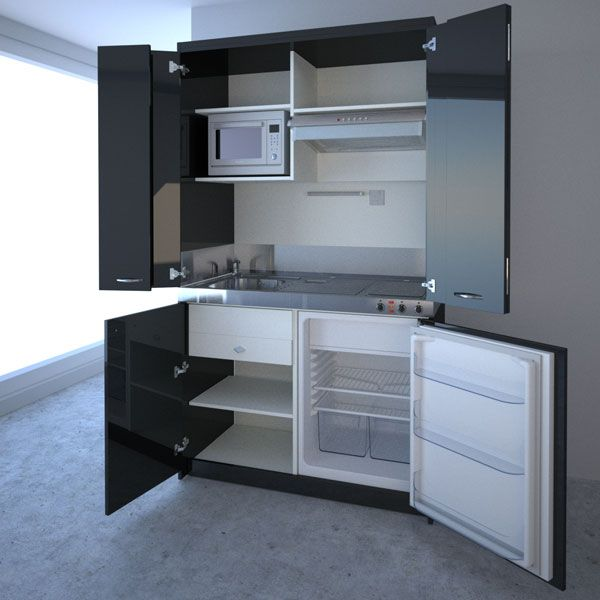 Compact Kitchen Designs For Small Es Everything You Need In One Single Unit
