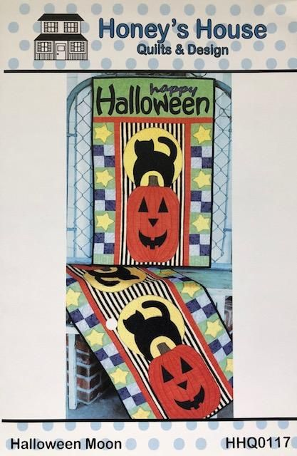 This halloween, make sure you stay on trend with all the hottest and most popular halloween costume ideas! Halloween Moon - Gordy & Micks Quilt Shop in 2021   Halloween moon, Quilt shop, House quilts