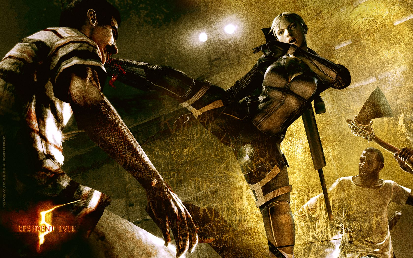 resident evil 5 gold edition wallpaper