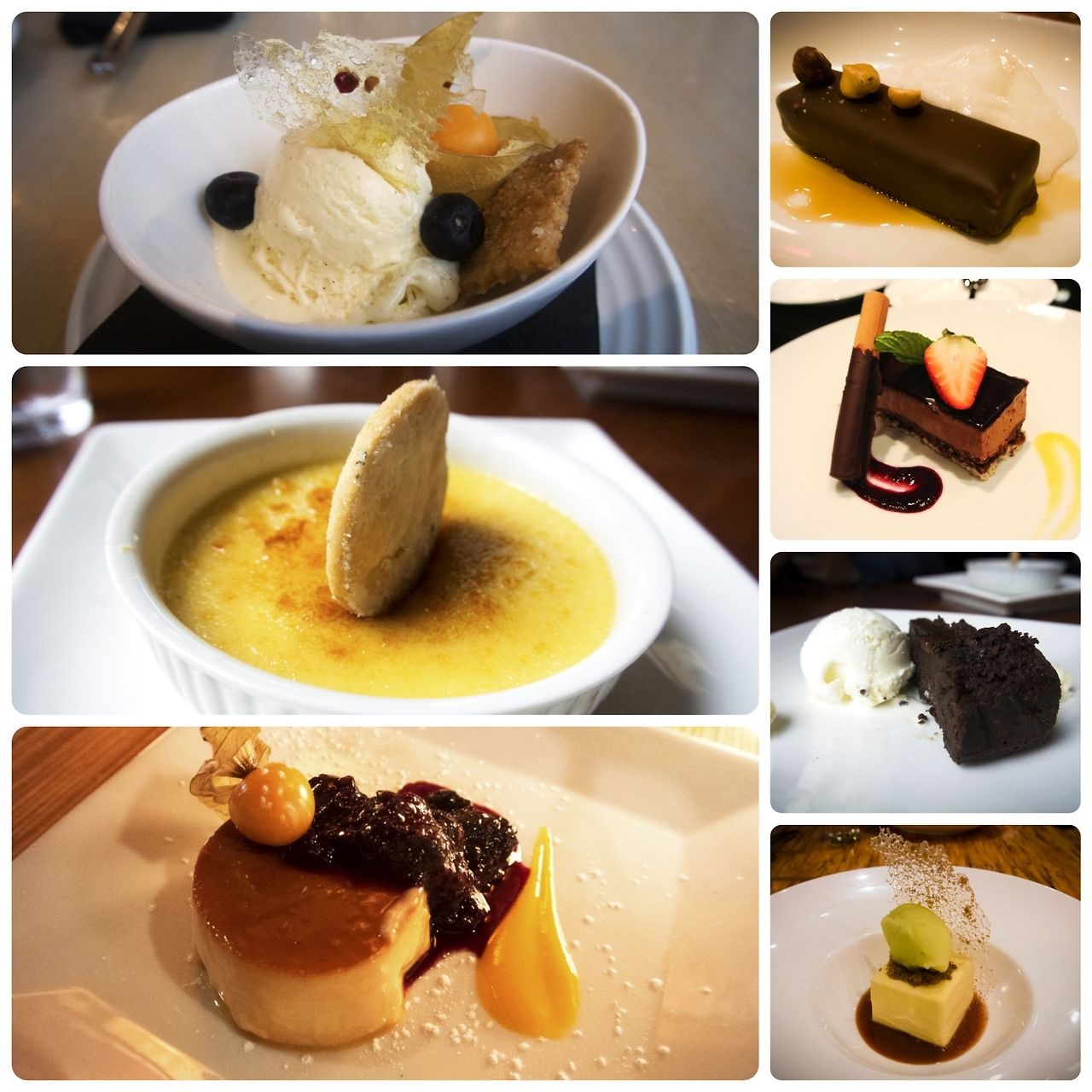 Dessert Collage from Dine Out Vancouver 2015 #dovf #foodie #foodporn