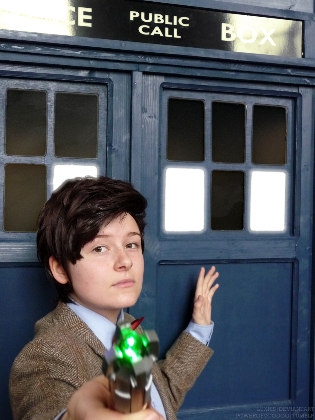 Time Lord and his Box by Luxris.deviantart.com on @deviantART