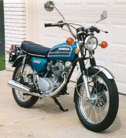 honda cb 125  Looks just like the one my grandpa got me