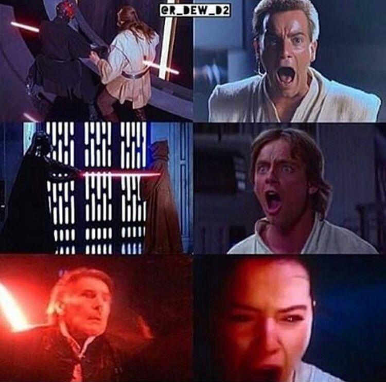Star Wars Anakin Darth Vader Luke Skywalker Obi Wan Kenobi Han Solo Rey Star Wars Humor Star Wars Fans Star Wars