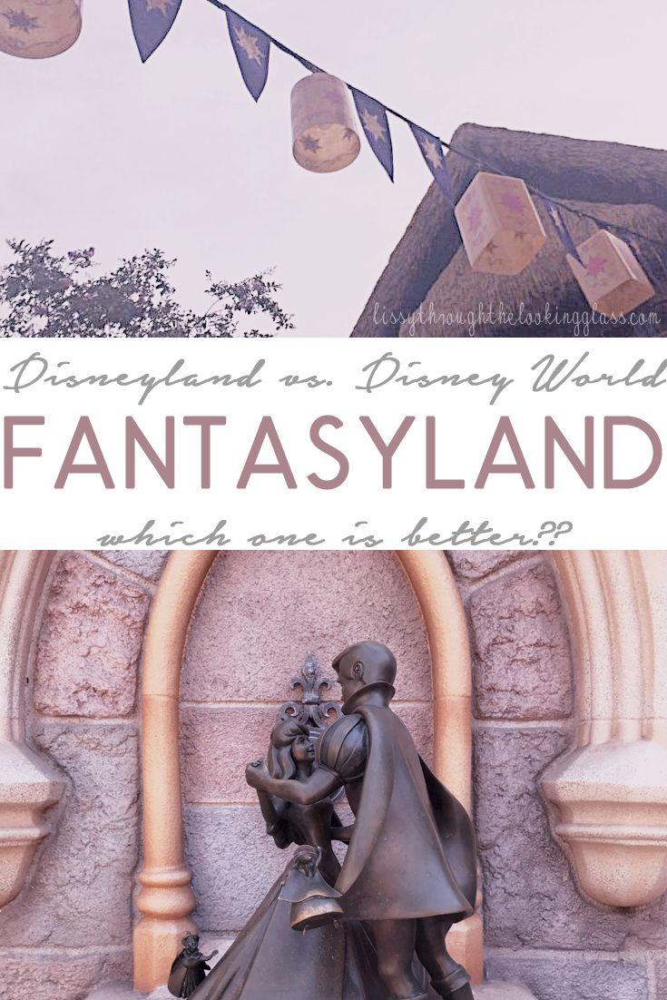 Photo of Fantasyland – Disneyland vs. Disney World – Was ist der Unterschied?