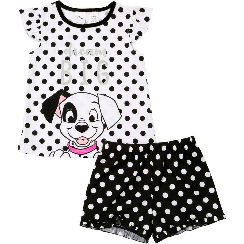 Disney 101 Dalmatians PyjamasWomens Cruella Da Vil PJsLadies Pyjama Set