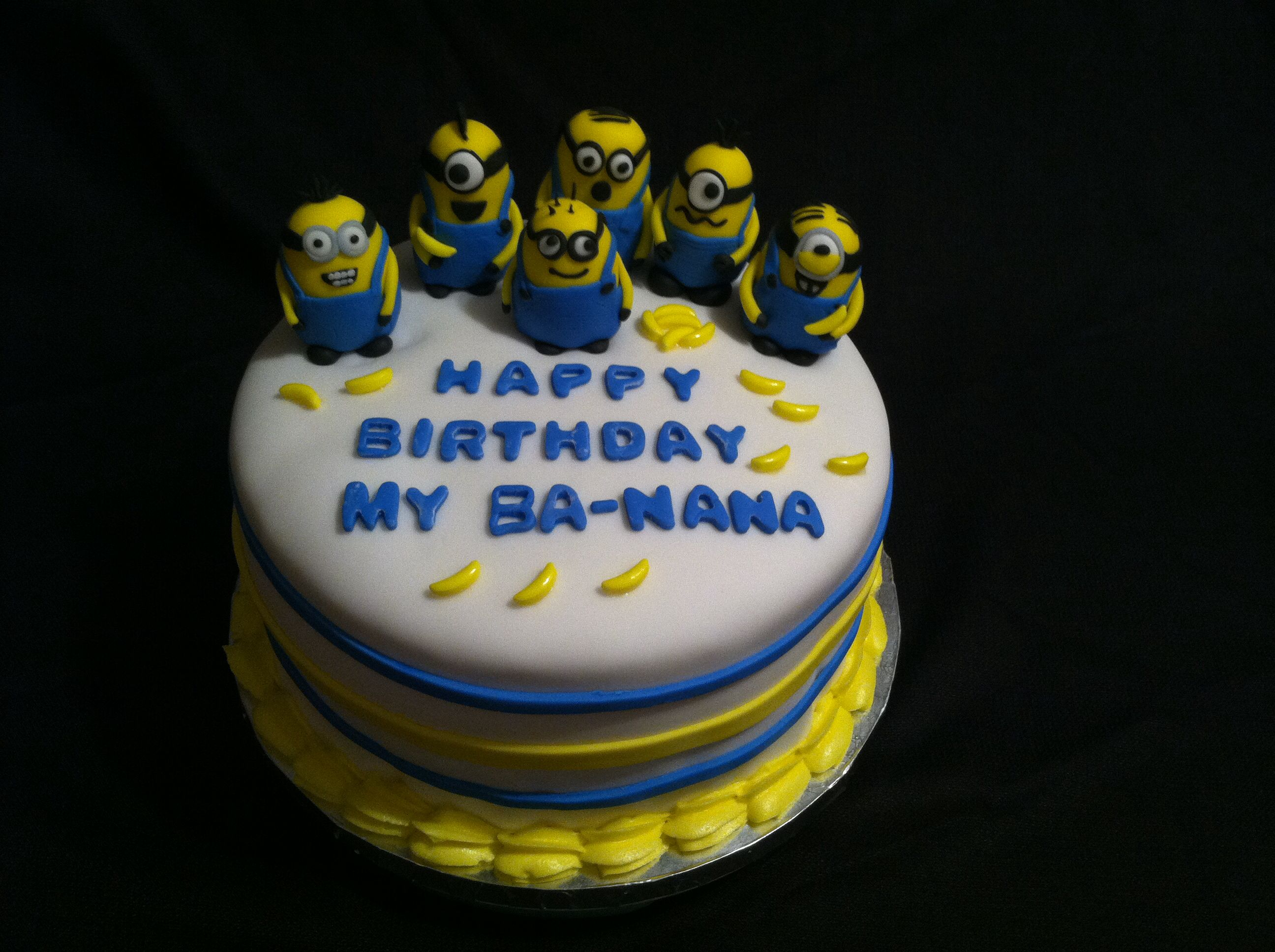 Birthday Cake Images Minions ~ Minion birthday cake did it birthday cakes and cake
