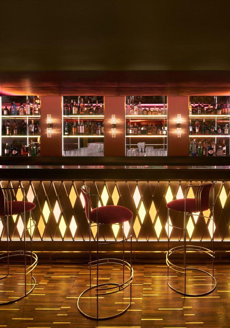 Dimore studio gestalten the arts club in london for Innendekoration restaurant