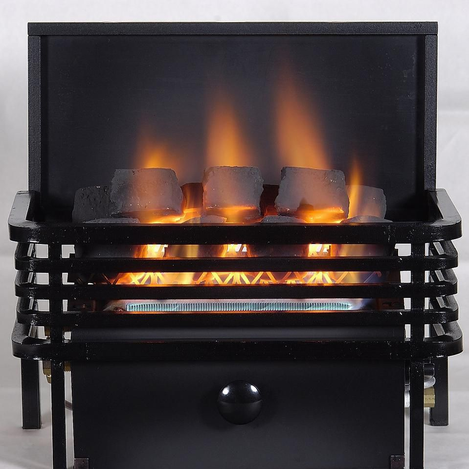 Rasmussen 15 Inch Chillbuster Fireplace Set With Vent Free