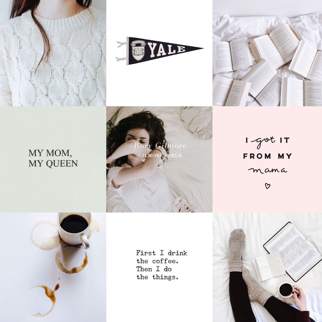"mattsczuchrys: """"Character Aesthetic: Rory Gilmore I can't"