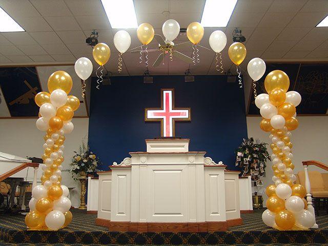 Welcome home balloons denver pastor anniversary pinterest