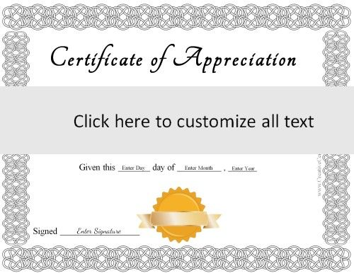 Online Certificates Templates Black And White Frame With A Gold Award Ribbon  Speech  Pinterest .