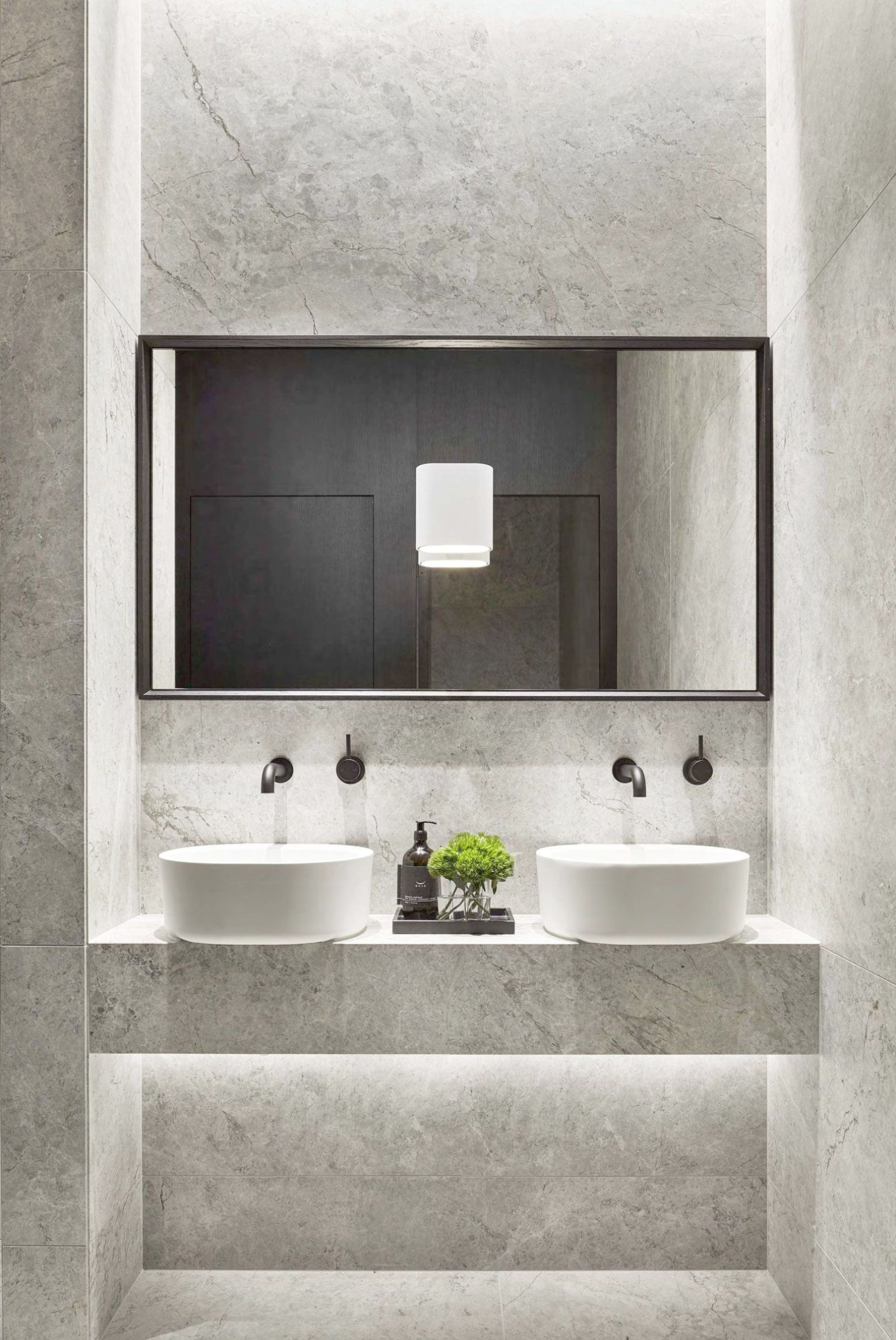 Clean & Simple Bath At Pdg Melbourne Head Office By