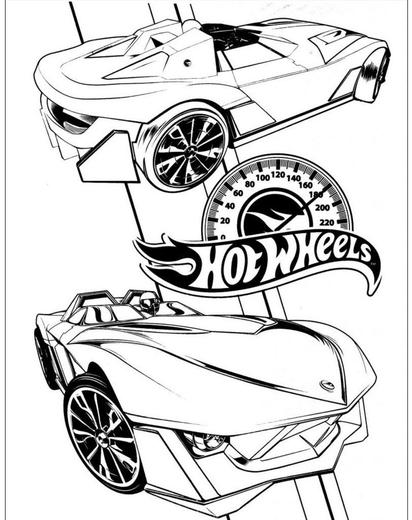 Perfetto Hot Wheels Da Colorare 46 Pagine Da Colorare Gratis