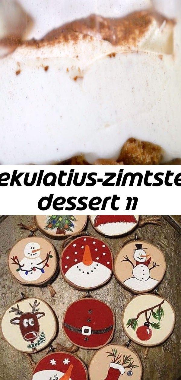 Spekulatius-zimtstern dessert 11 #rustikaleweihnachtentischdeko