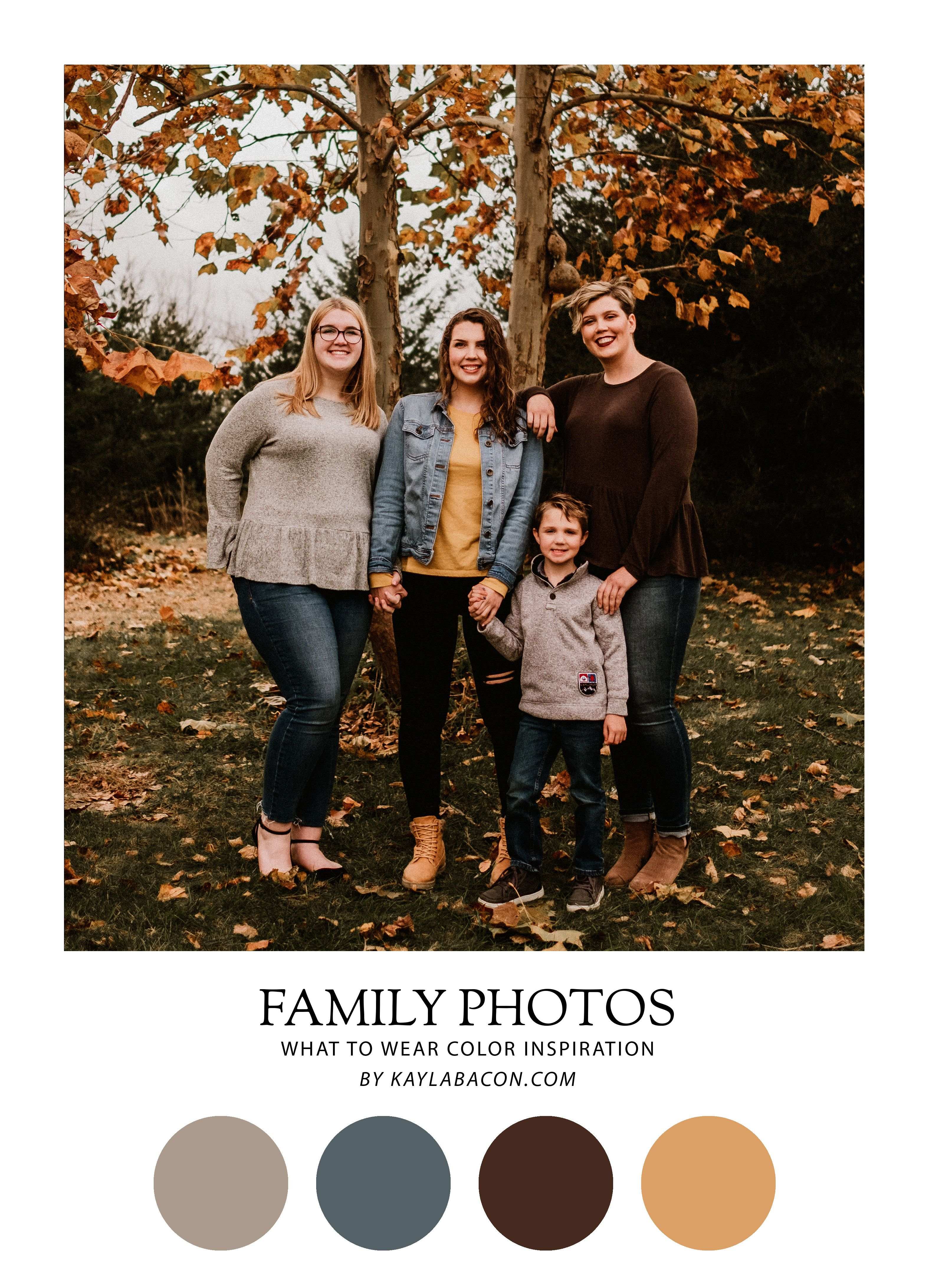 Fall Colors For Family Pictures : colors, family, pictures, Family, Photos, Kaylabacon.com, Outfits,, Photo