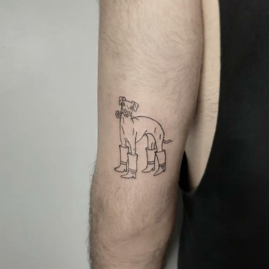 Şununla bi açılışı yapalım 🐕🤩  .  #tattoo #tattooing #blacktattoo #ink #inkdrawing #inktattoo