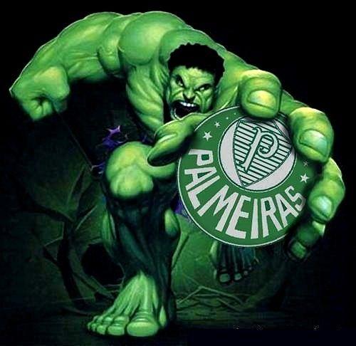Mascote Hulk Palmeiras | Símbolo do palmeiras, Wallpaper palmeiras, Bandeira do palmeiras