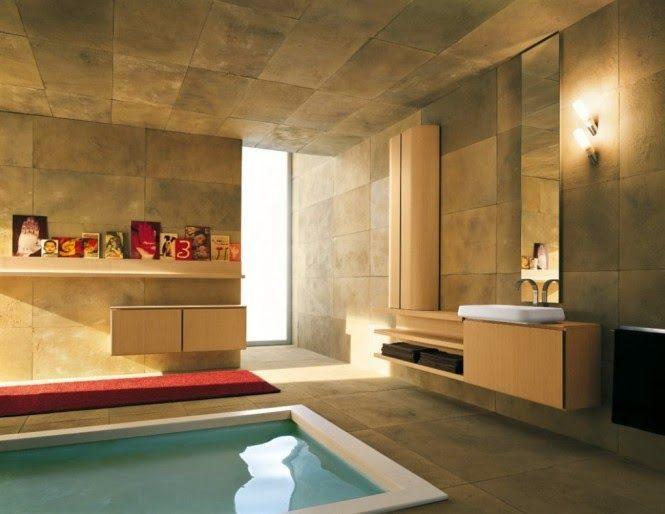 En İlginç ve TAbi ki Harika Banyo Tasarımları Ev Hakkında Her - das moderne badezimmer wellness design