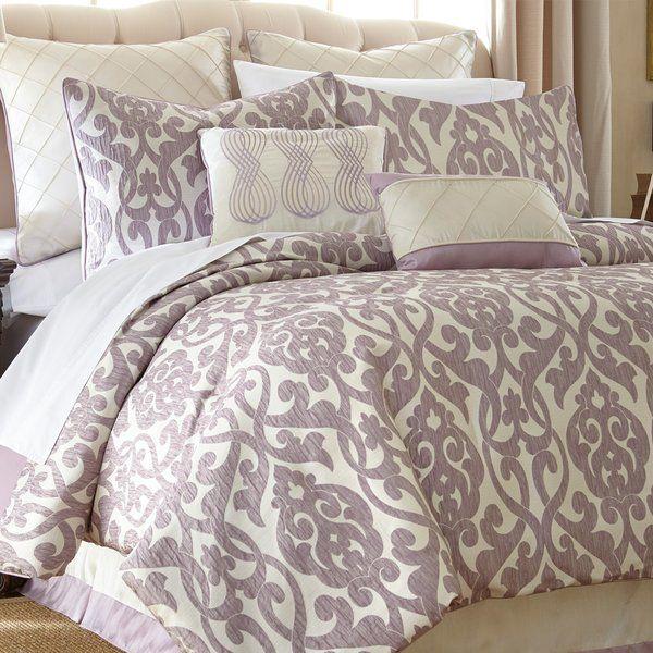 Lidia 237 Dia 8 Piece Reversible Comforter Set In 2019