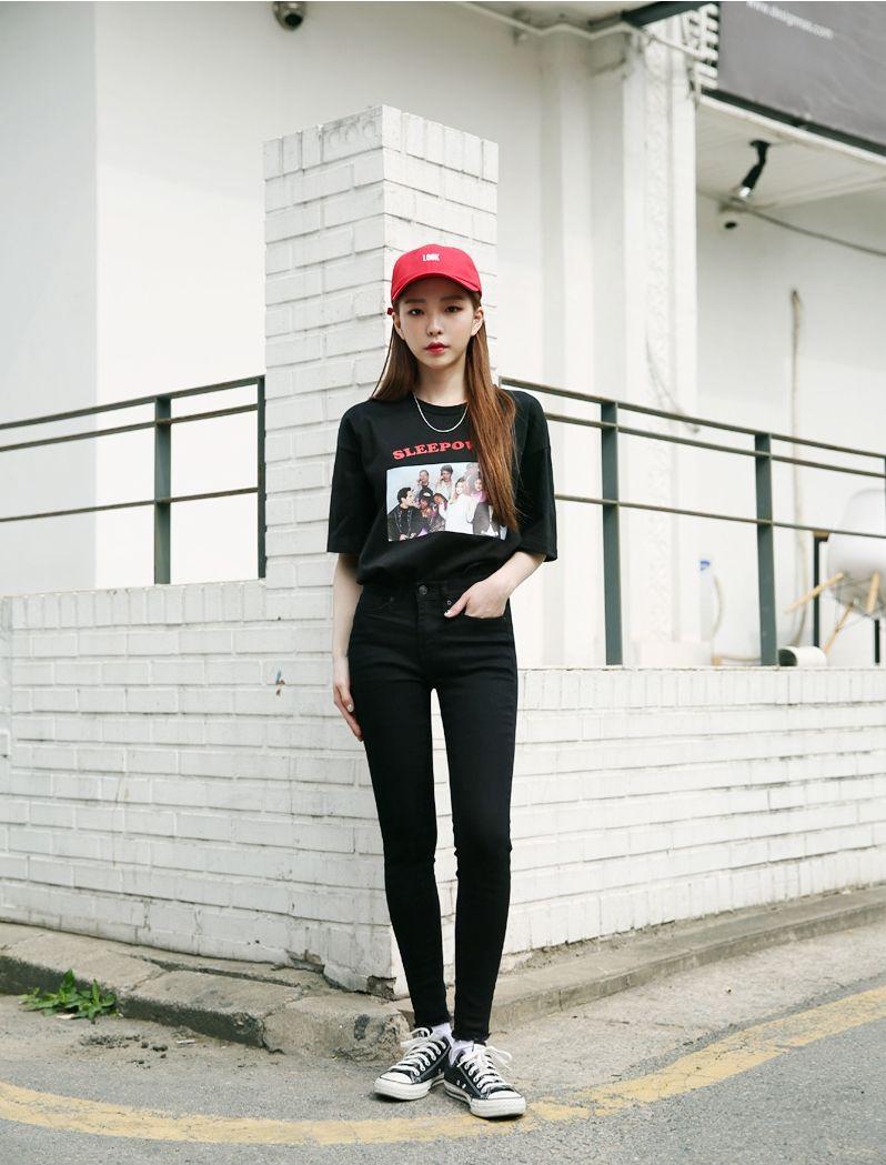 Korean Fashion Ootd Korean Fashion Pinterest