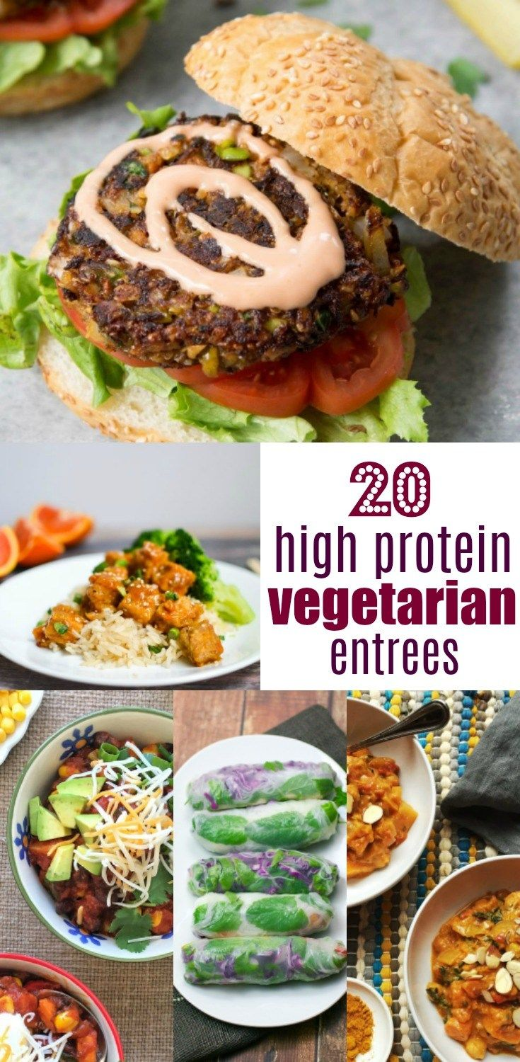 20 High Protein Vegetarian Meals That You Are Going To Love High Protein Vegetarian Recipes Vegetarian Recipes Easy Vegetarian