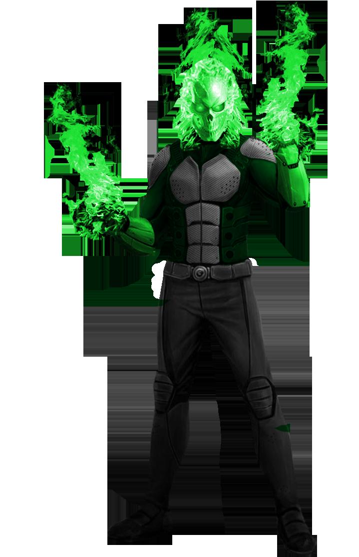 Atomic skull dc