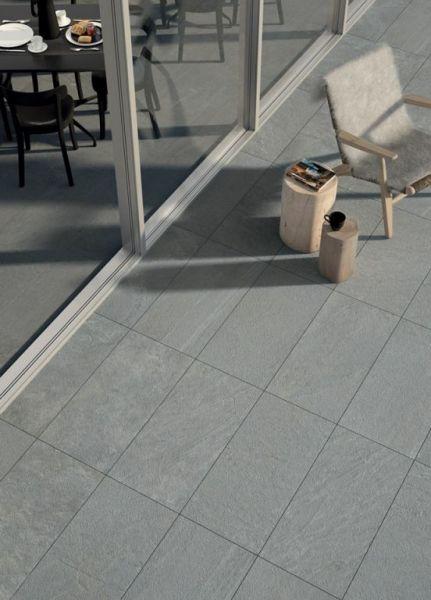 Keramische Tegel Hi Thick 45x90x2cm Silver Matrix In 2020 Tegels