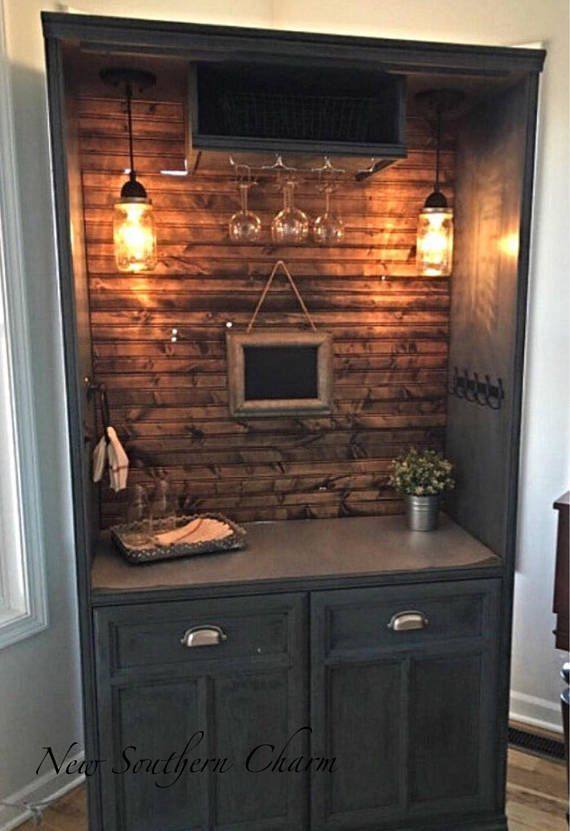 Custom Armoire Cabinet Bar By New Southern Charm Piece In Picture Is A SOLD  Piece We