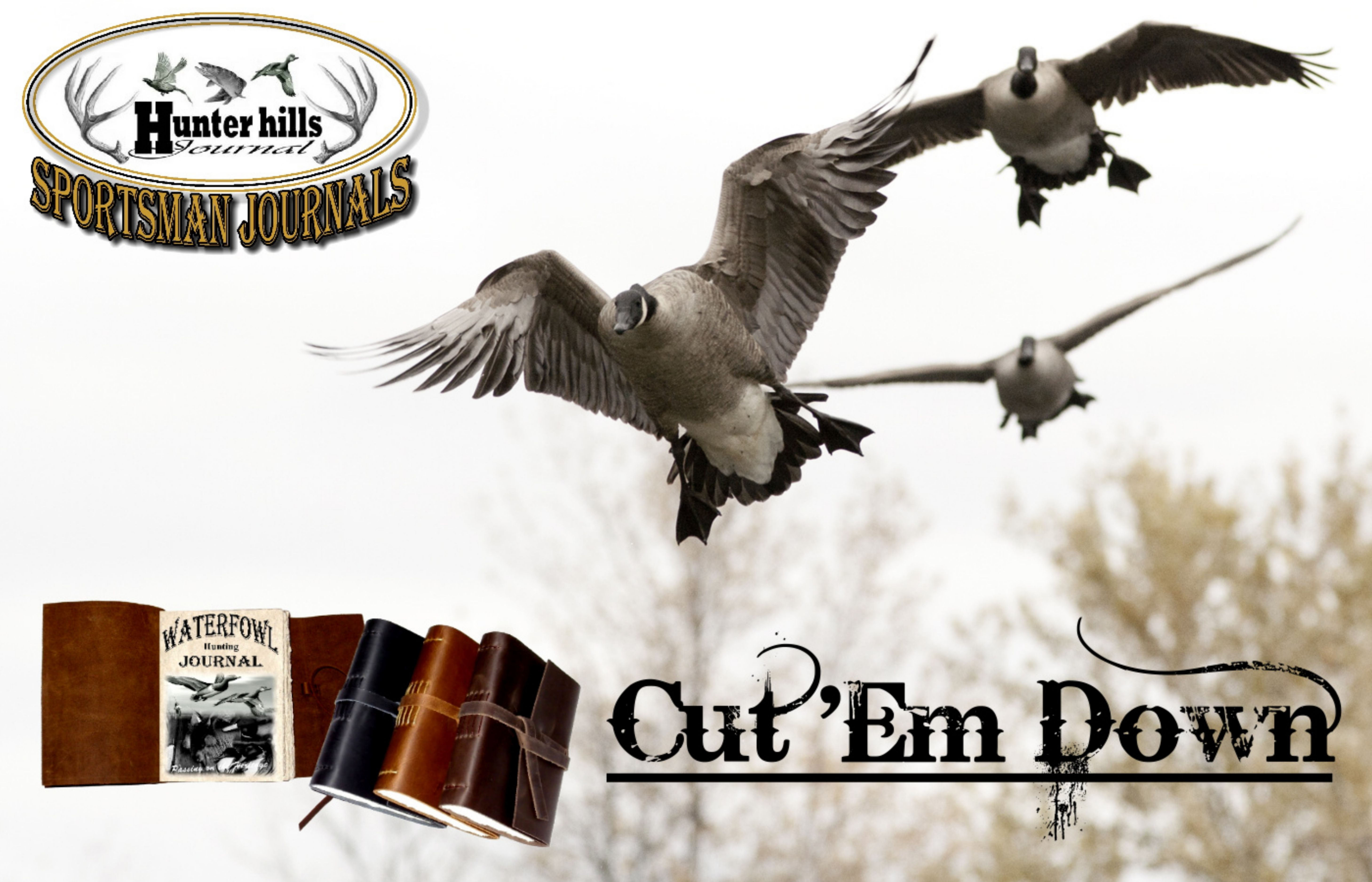 Leather Waterfowl Hunting Journal makes the perfect gift