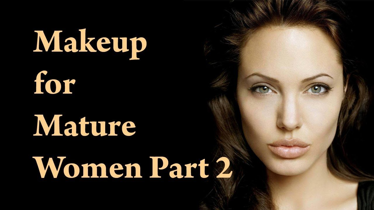 Mature face makeup tutorial