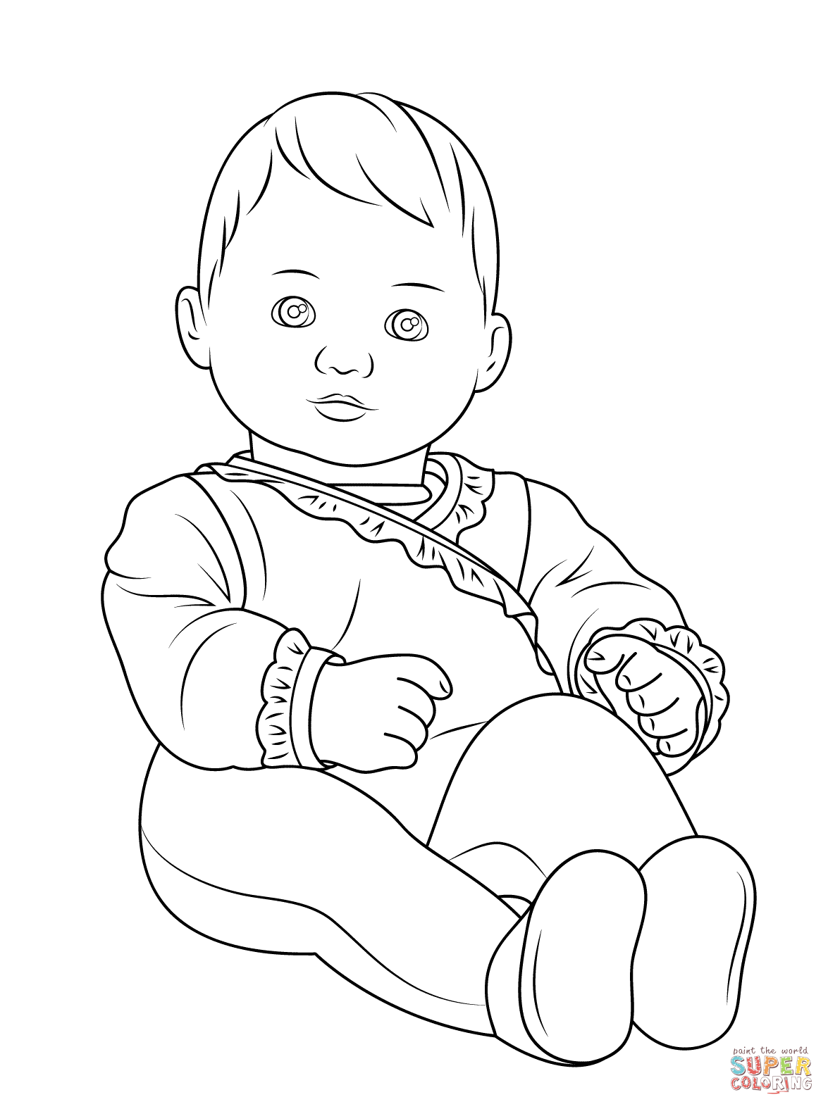 Printable American Girl Doll Coloring Pages Baby Coloring Pages Cinderella Coloring Pages Coloring Pages For Boys