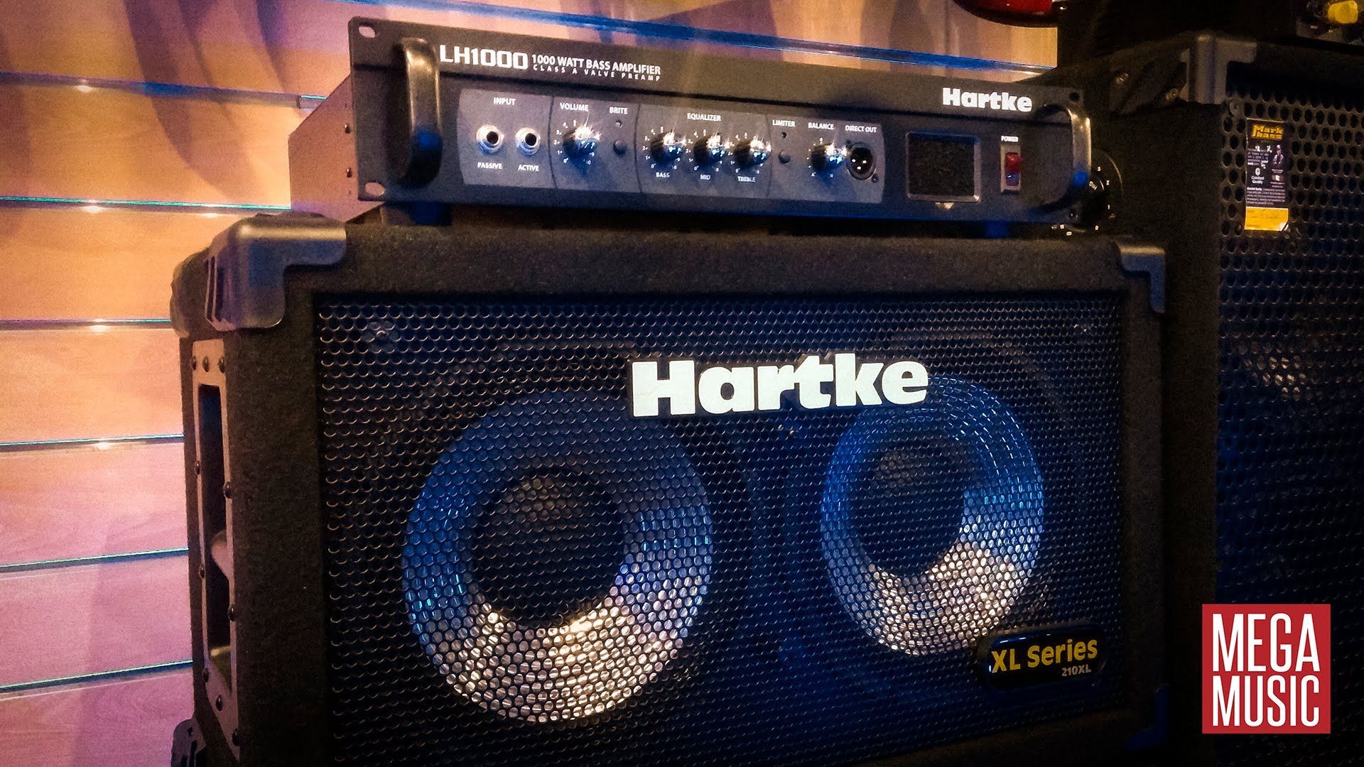 Demo Hartke Lh1000 Bass Head 210xl Speaker Cabinet Hartke Hartkebasscab Bassamp Bassamplifier Amplifier Megamusic Megamusicmya Bass Head Speaker Bass