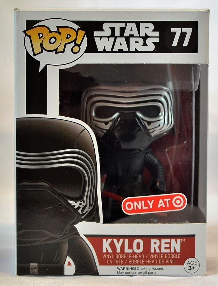 Funko Pop Star Wars 77 Kylo Ren