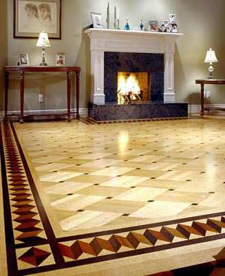 basket weave hardwood floor