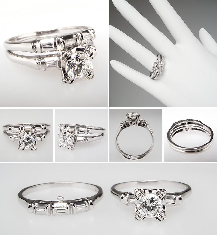 Vintage and Antique Engagement Rings from EraGem Engagement Ring