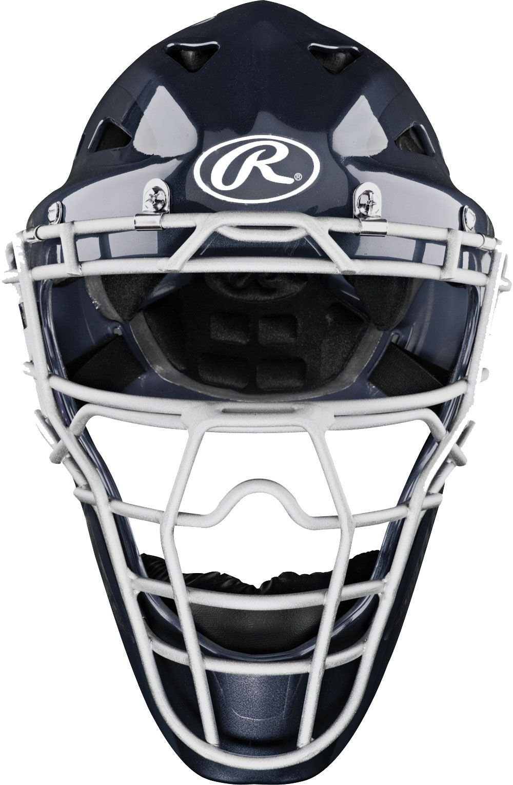 Rawlings Adult Coolflo Highlight Catcher's Helmet, Blue