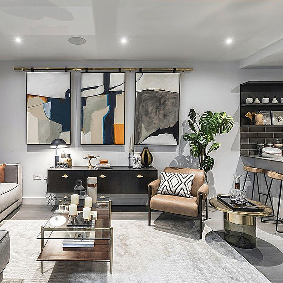 London square bermondsey show home cre interior design ideas also rh pinterest