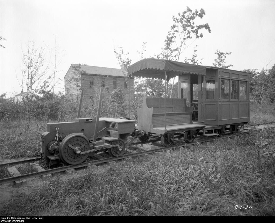 Edisonu0027s original electric experimental locomotive. 2-2-0 rail-car and track · Rail CarHenry FordElectric ... & Edisonu0027s original electric experimental locomotive. 2-2-0 rail-car ... markmcfarlin.com