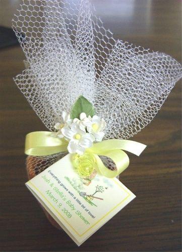 mini flower pot and seeds favors | Flower Pot Favor, Large 2\