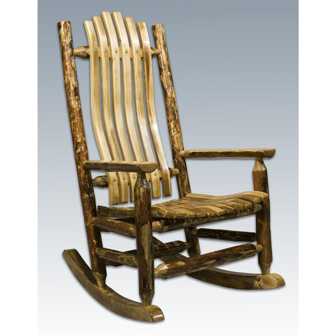Looking For Rocking Chairs Rustic Log Rocking Chair Tyres2c