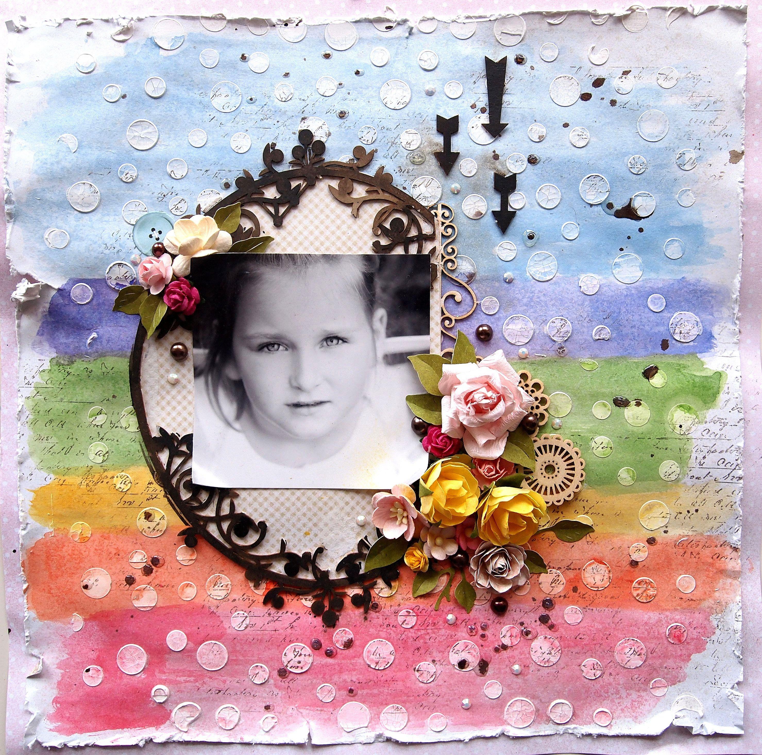 Scrapbook ideas rainbow - Rainbow Scrapbook Com