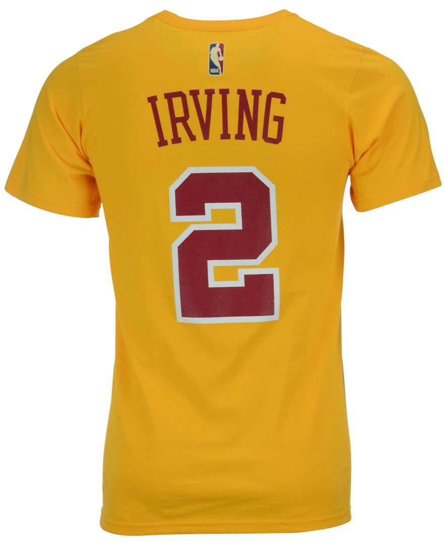 c763aca9 adidas Men's Kyrie Irving Cleveland Cavaliers Hardwood Classic Player  T-Shirt
