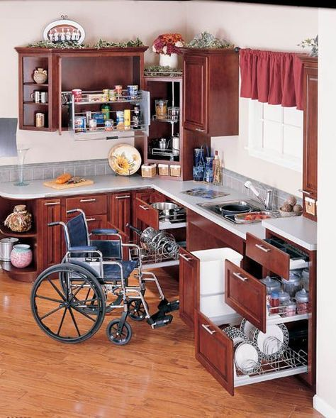 Universal Design Kitchen Cabinets: 17 Features For A Sensory-Friendly, Therapeutic Kitchen