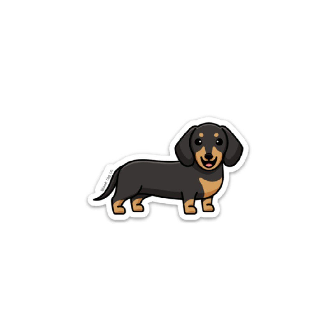 The Dachshund Sticker Animal Stickers Cute Laptop Stickers Dog Stickers [ 1080 x 1080 Pixel ]